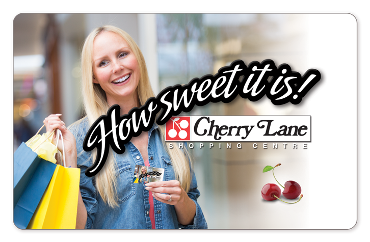 Cherry Lane Gift Cards Available Today
