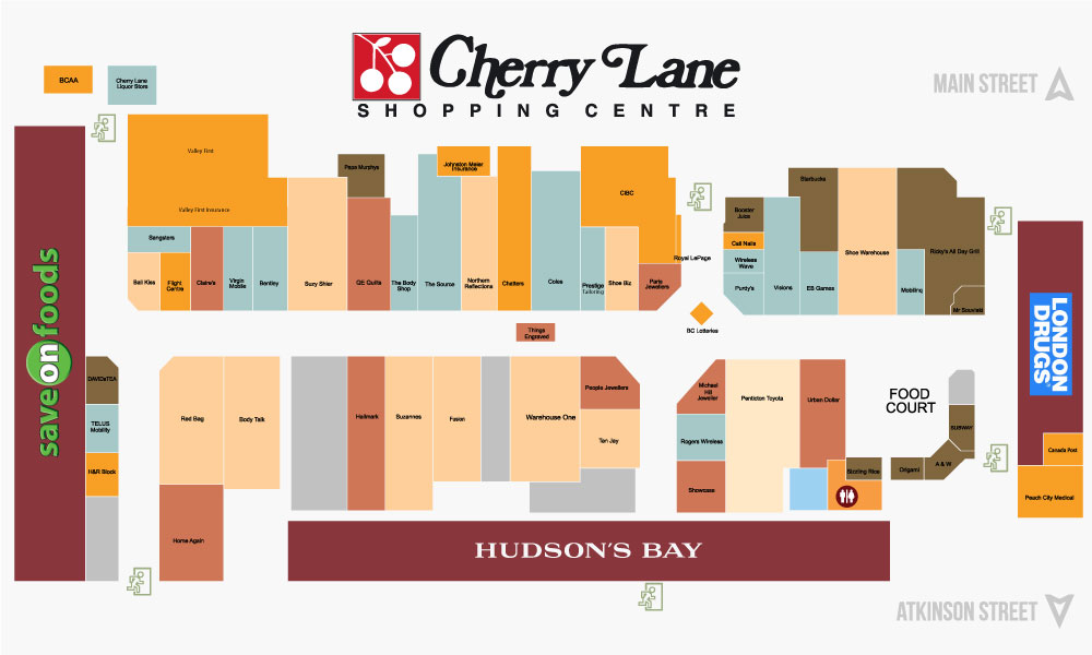 Stores & Services – Cherry Lane Shopping Centre on