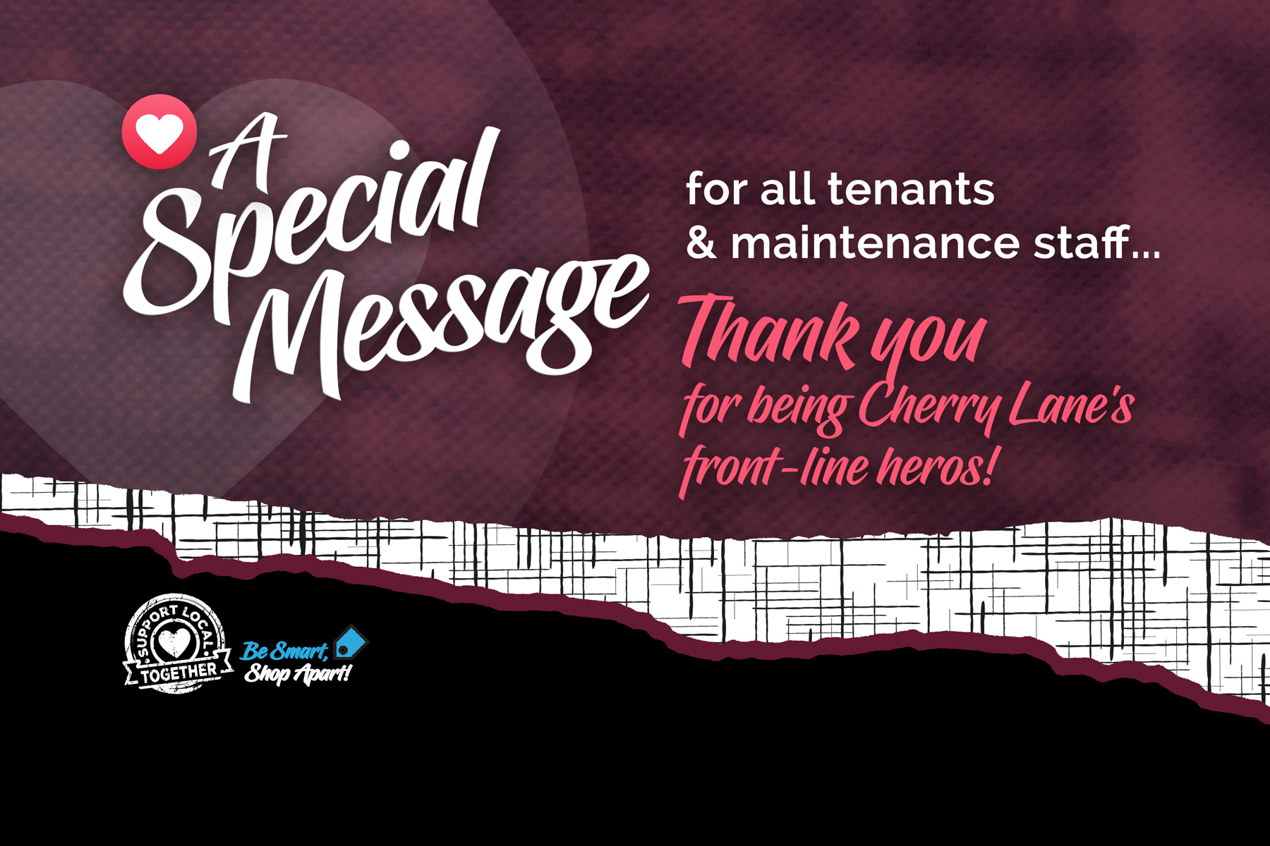 Thank You Tenants & Staff